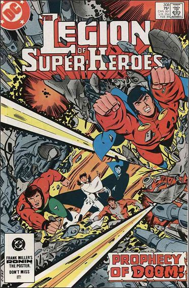 Legion of Super-Heroes (1980) 308-A by DC