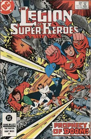 Legion of Super-Heroes (1980) 308-A