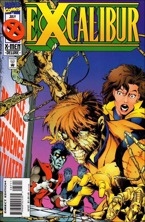 Excalibur (1988) 87-A by Marvel