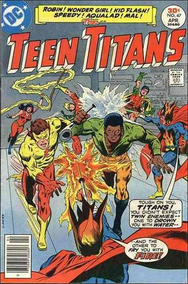 Teen Titans (1966) 47-A by DC