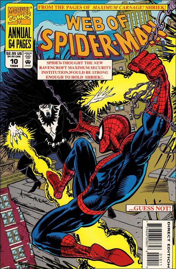 Web of Spider-Man Annual 10-A by Marvel