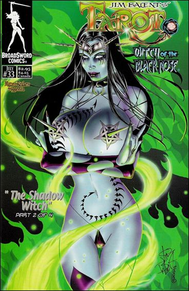 Tarot: Witch of the Black Rose 33-A by BroadSword Comics
