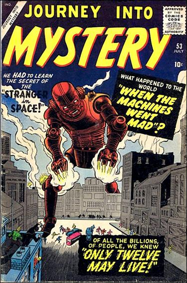 Journey into Mystery (1952) 53-A by Marvel