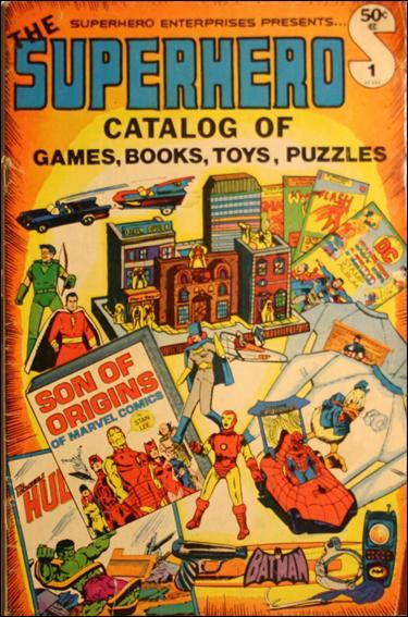 Superhero Catalog 1-Z-INVALID by Superhero Enterprises, Inc.