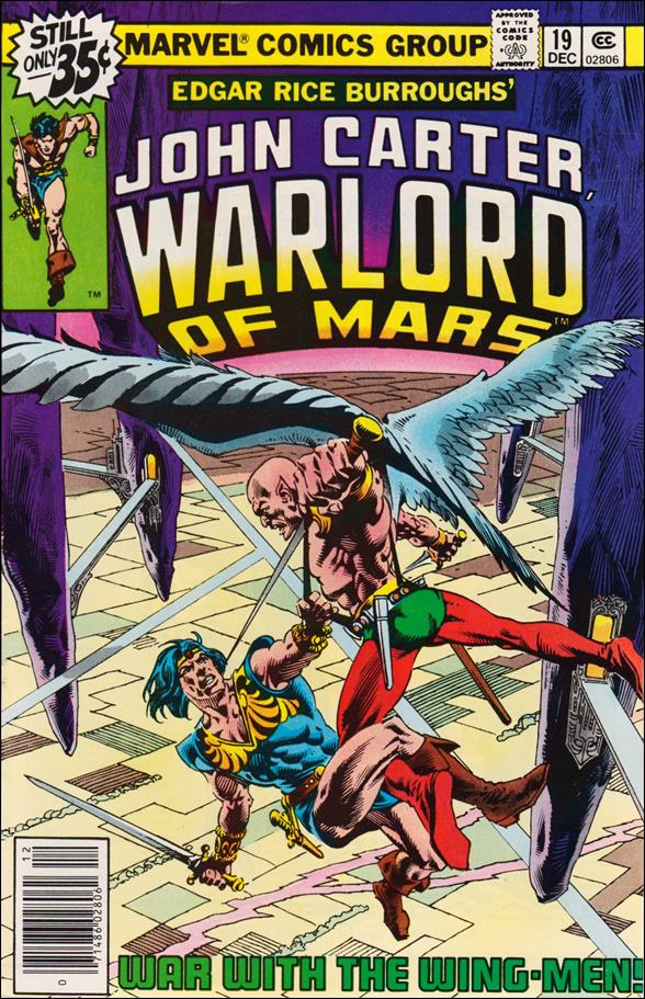 John Carter, Warlord of Mars 19-A by Marvel