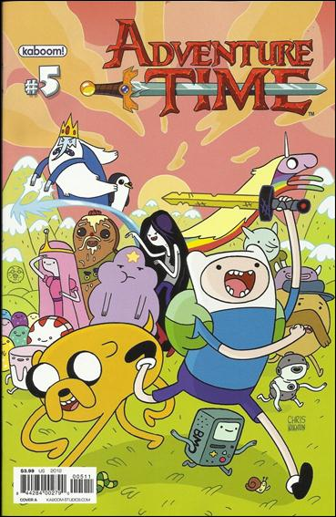 Adventure Time 5-A by Kaboom!