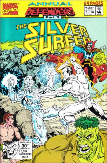 Silver Surfer Annual 5-A by Marvel
