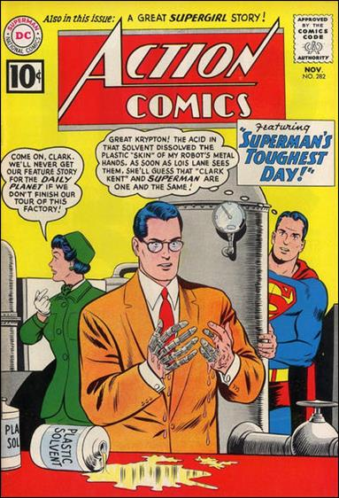 Action Comics (1938) 282-A by DC