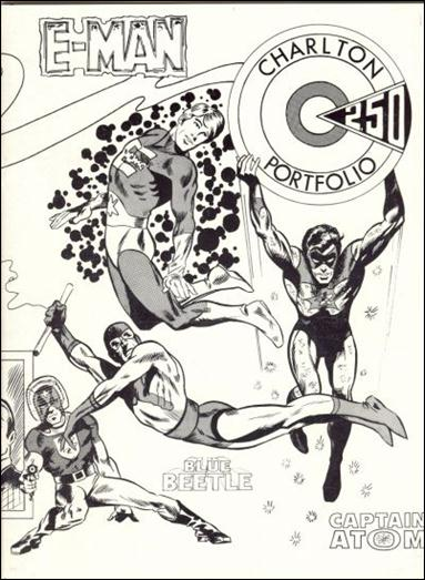 CPL Special Double-Issue #9 & 10... Presents the Charlton Portfolio 9-A by Charlton