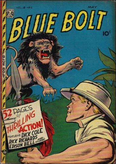 Blue Bolt (1947) 12-A by Premium