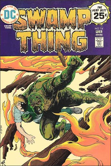 Swamp Thing (1972) 14-A by DC