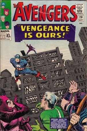 Avengers (1963) 20-B