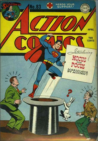 Action Comics (1938) 83-A by DC