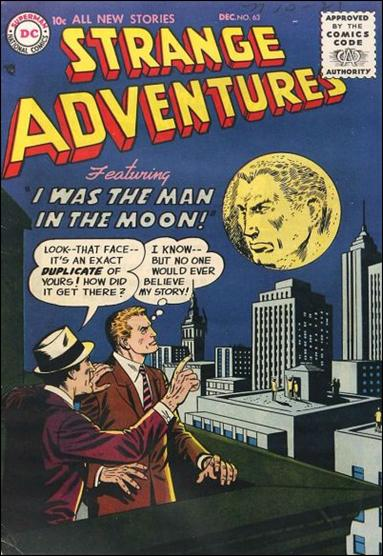 Strange Adventures (1950) 63-A by DC