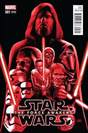 Star Wars: The Force Awakens Adaptation 1-D