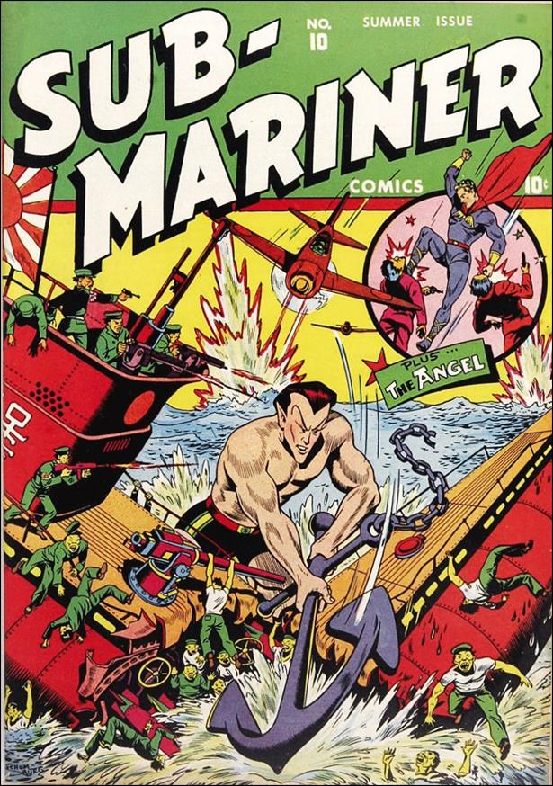 Sub-Mariner (1941) 10-A by Atlas