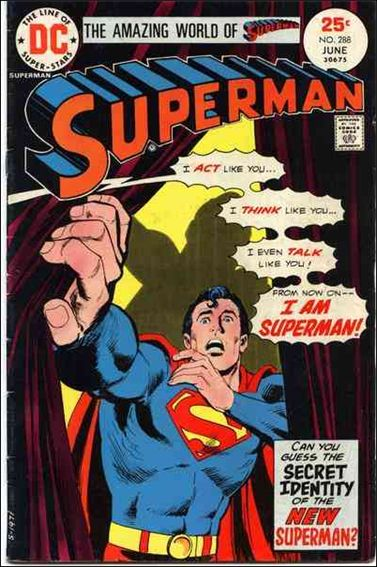 Superman (1939) 288-A by DC