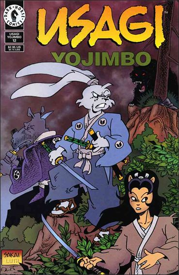 Usagi Yojimbo (1996) 12-A by Dark Horse