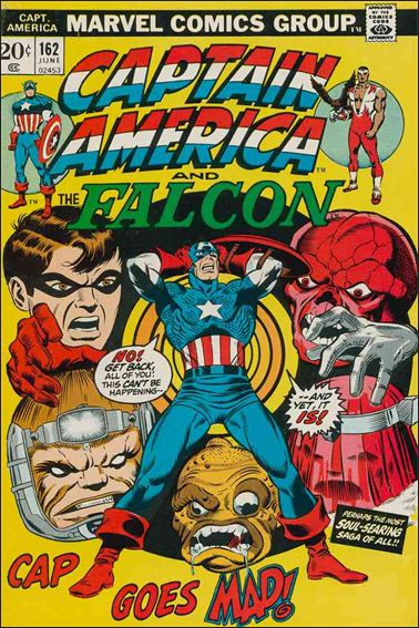 Captain America (1968) 162-A by Marvel