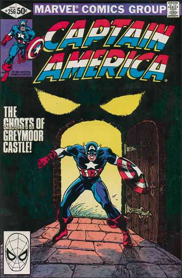 Captain America (1968) 256-A by Marvel