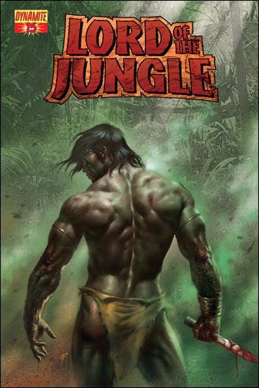 Lord of the Jungle 15-A by Dynamite Entertainment