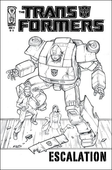 Transformers: Escalation 1-E by IDW