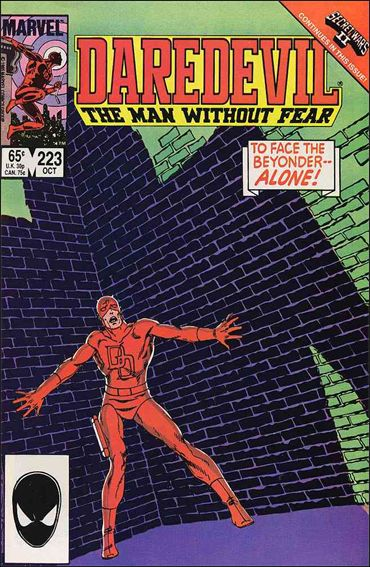 Daredevil (1964) 223-A by Marvel