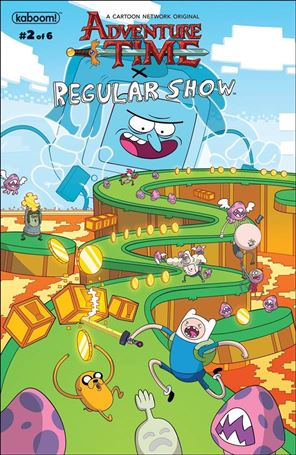 Adventure Time/Regular Show 2-A