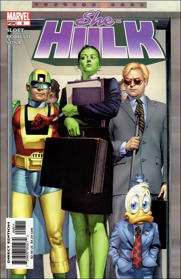 She-Hulk (2004) 8-A by Marvel