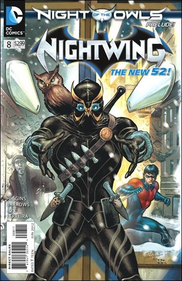 Nightwing (2011) 8-A by DC