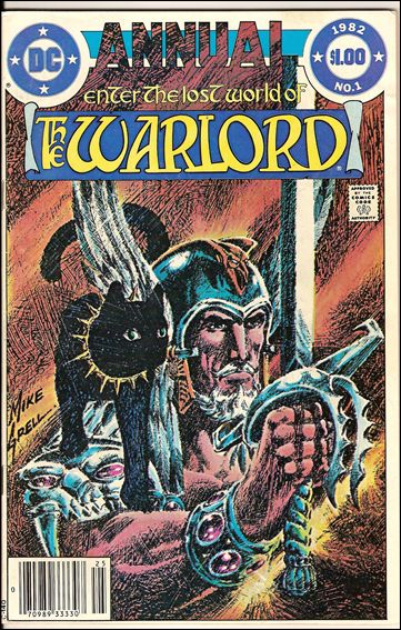 Warlord Annual 1-A by DC