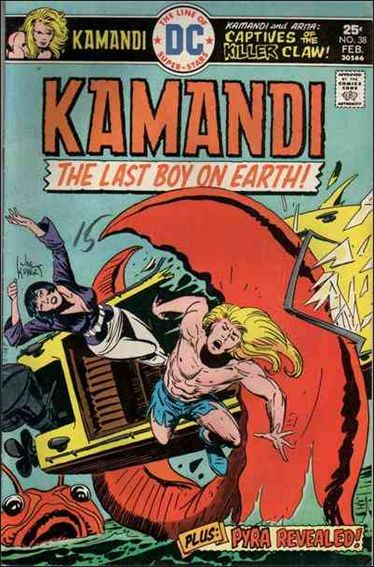 Kamandi, the Last Boy on Earth 38-A by DC