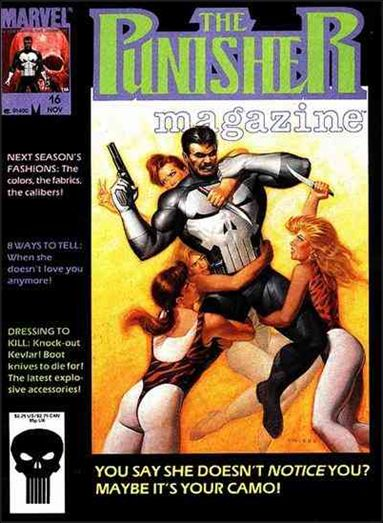 Punisher Magazine 16-A by Marvel