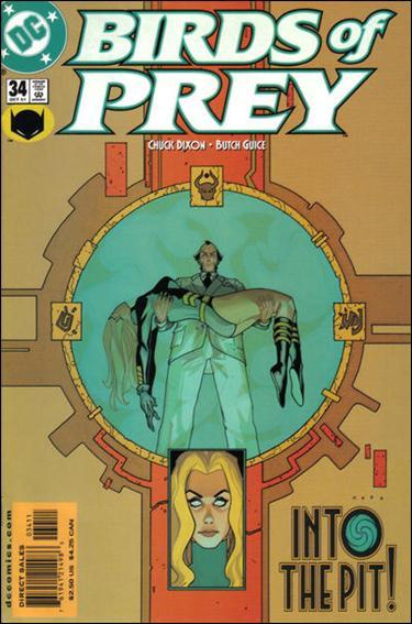 Birds of Prey (1999) 34-A by DC