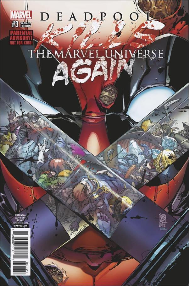 Deadpool Kills the Marvel Universe Again 3-B by Marvel