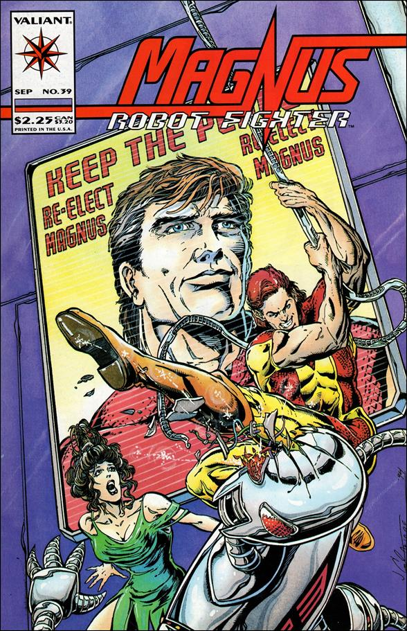 Magnus Robot Fighter (1991) 39-A by Valiant