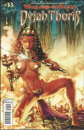 Warlord of Mars: Dejah Thoris 33-B