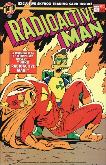 Radioactive Man (1993) 412-A by Bongo