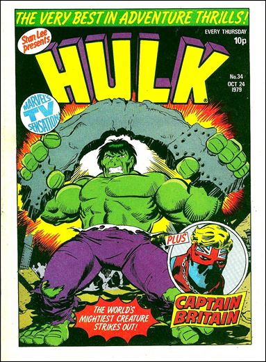 Hulk Comic (UK) 34-A by Marvel UK