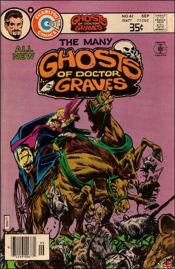 Many Ghosts of Dr. Graves 61-A by Charlton