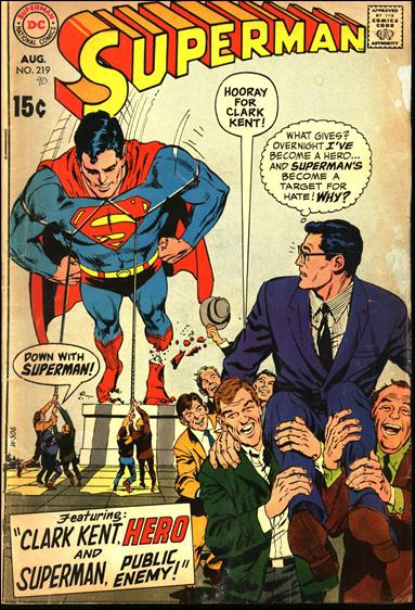 Superman (1939) 219-A by DC