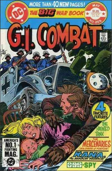 G.I. Combat (1952) 265-A by DC