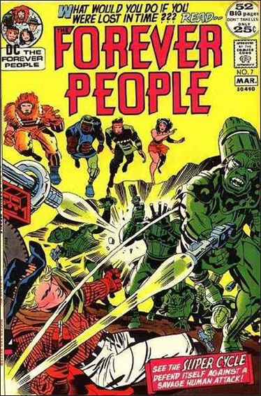 Forever People (1971) 7-A by DC