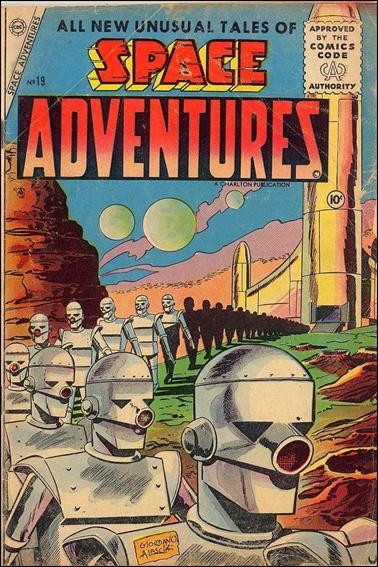 Space Adventures (1952) 19-A by Charlton