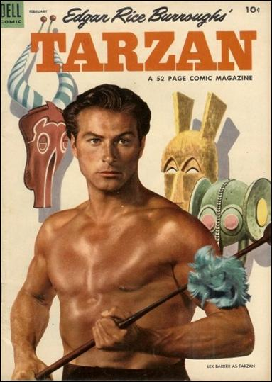 Tarzan (1948) 53-A by Dell