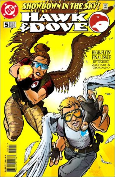 Hawk and Dove (1997) 5-A by DC