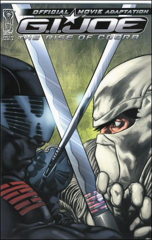 G.I. Joe: Rise Of Cobra Movie Adaptation  3-A by IDW
