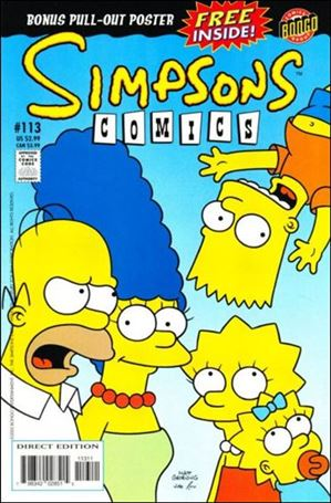 Simpsons Comics 113-A