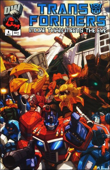 Transformers: More Than Meets the Eye (2003) 4-A by Dreamwave