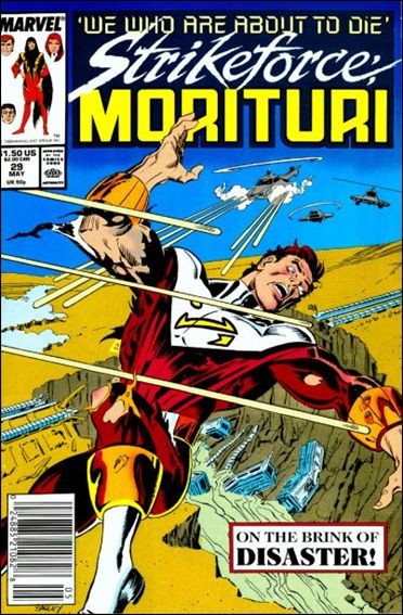Strikeforce: Morituri 29-A by Marvel
